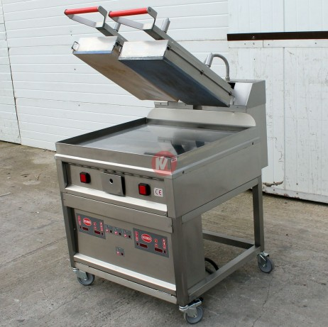 Grill clam automatique kvt occasions for Grill cuisine professionnelle