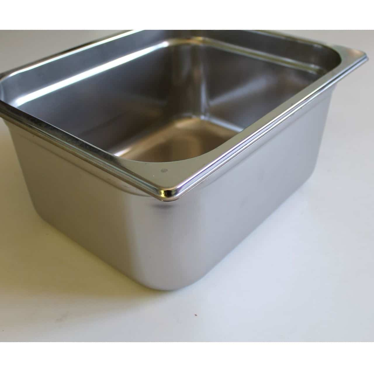 6 bacs inox gn 1 3 profondeur 65 mm kvt occasions for Bac inox cuisine professionnelle